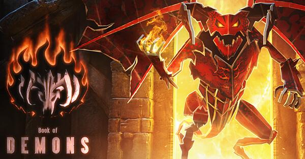 Return 2 Games   Book of Demons